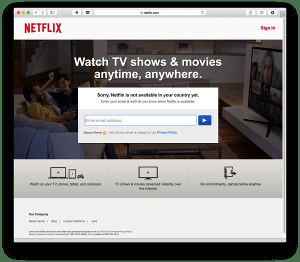 Netflix App is