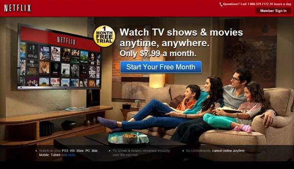 Netflix free trial2