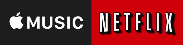Apple music and netflix
