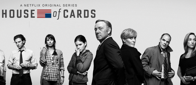 House of cards netflix logo