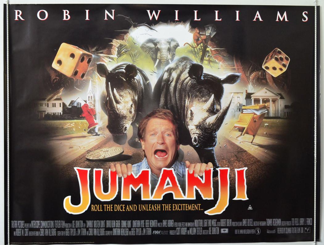 ロビン・ウィリアムズの名作「ジュマンジ」が超豪華キャストでついに ...